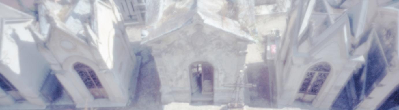 Foto von einem alten Friedhof