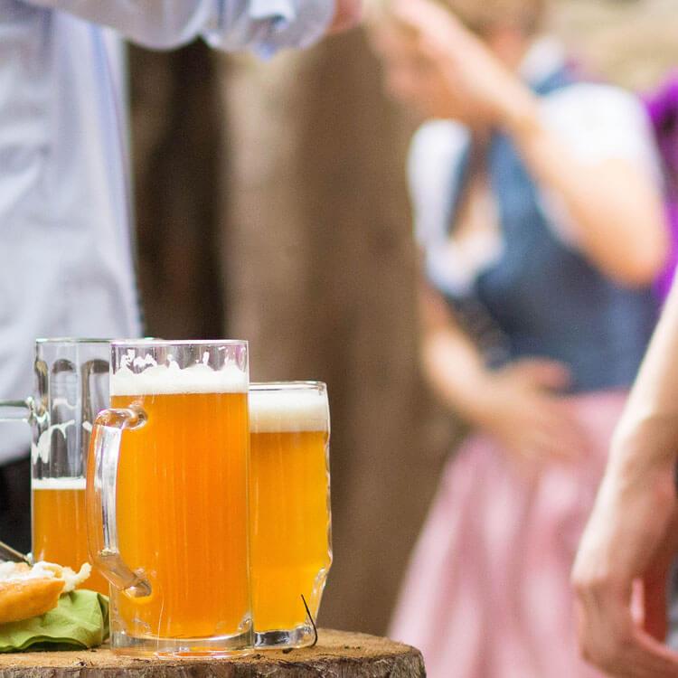 Bayerisches Hochzeitsfest